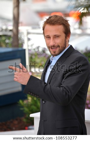 "Matthias Schoenaerts at photocall for his new movie ""Rust & Bone"" in competition at the 65th Festival de Cannes. May 17, 2012  Cannes, France Picture: Paul Smith / Featureflash"