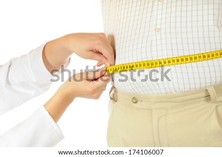 Measurement of a fat man