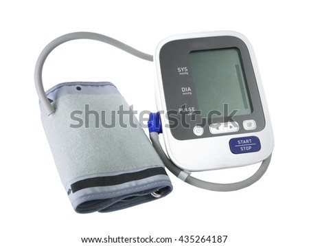 Measuring blood pressure isolated