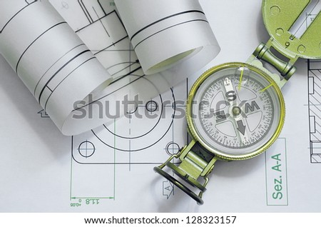 mechanical engineering design and graphics with compass