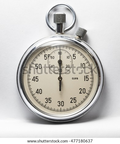 mechanical stopwatch, high resolution and detail