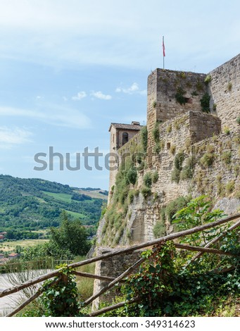 Medieval fortress of Italy