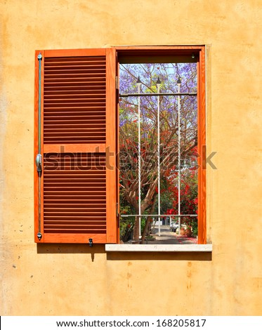 how to open the window from outside