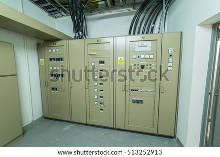 medium voltage electricity distribution - technical room