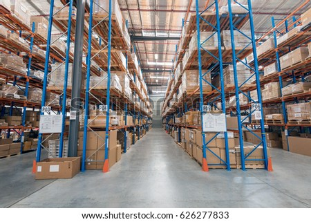 Melbourne Australia April 2016interior Warehouse Stock 2016 Interior Commercial