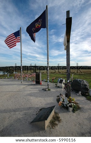 Memorial at Flight 93 Impact Area