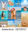 Memories of summer - stock photo