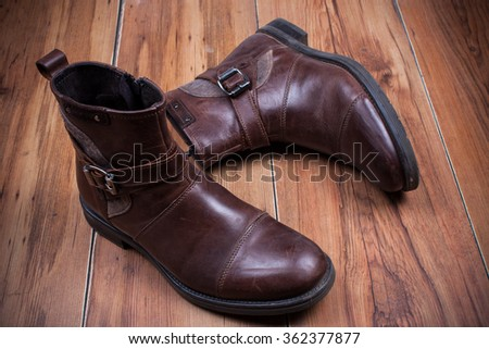 men's leather shoes,boots.
