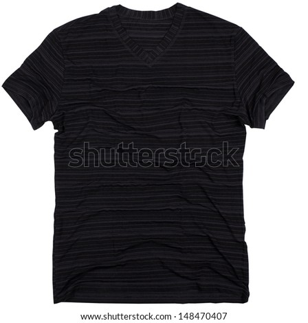 Men's t-shirt isolated on a white background