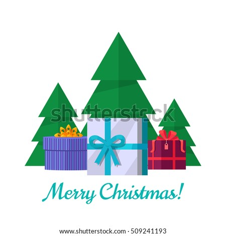 Simple Vector Christmas Tree Made White Stock Vector 155631200  - Christmas Tree Discounts