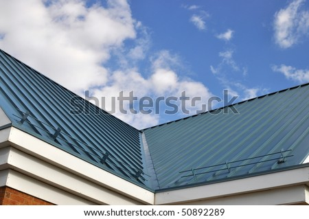 Metal Roof Valley
