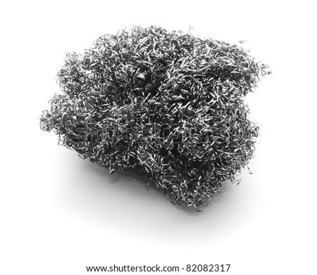 Metal Sponge Stock Photo