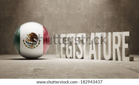 Mexico High Resolution Legislature Concept