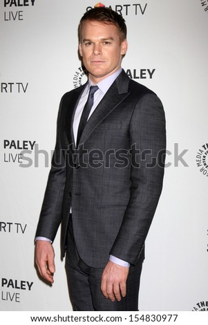 "Michael C. Hall at the PaleyFest Fall Previews:  Fall Farwell - ""Dexter,"" Paley Center for Media, Beverly Hills, CA 09-12-13"