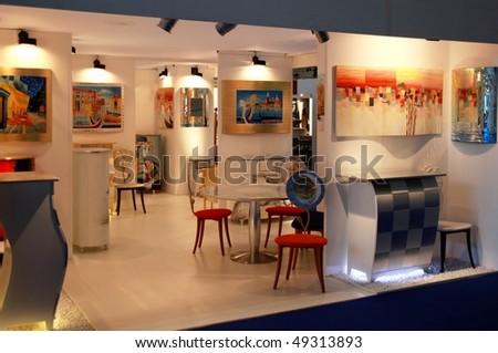 Saint petersburg russia 10 november 2016 stock photo 514517224 shutterstock for International interior design exhibition