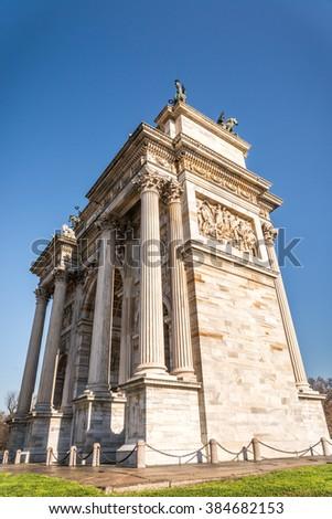 Beautiful Ancient Building Rome Stock Photo 53578597