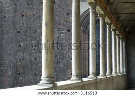 Milano (Lombardia, Italy) - Castello Sforzesco: a detail of the castle