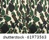 Military camouflage background - stock photo