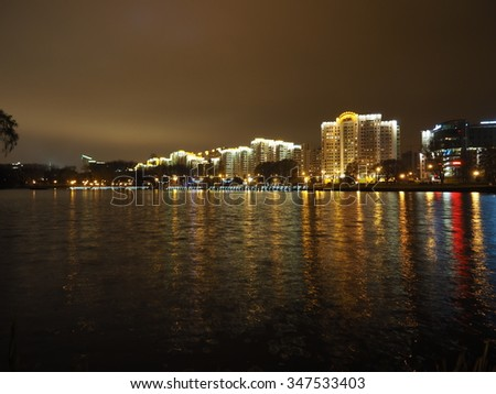 Minsk at night