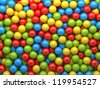 mixed-color balls background - stock vector