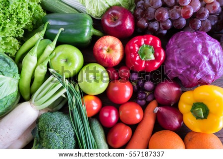 mixed fruit and vegetable