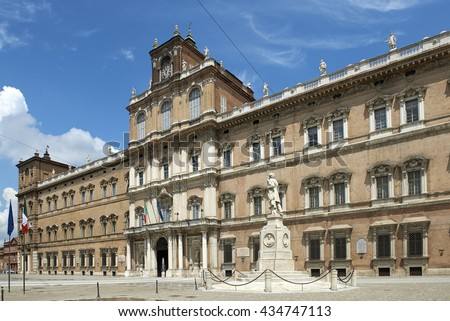 Modena,Italy,  the Ducal Palace