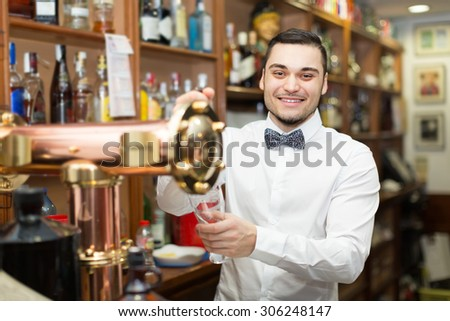 Dating male bartender