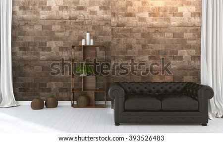 vintage room wallpaper old fashioned armchair stock foto 84492802, Hause ideen