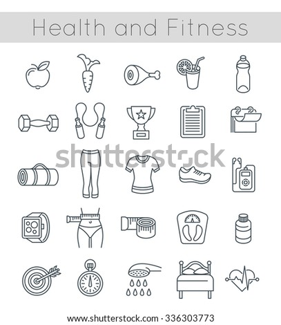 nutrition and physical fitness outline Course outline  physical fitness oa  field of physical fitness, nutrition and mental well-being may be provided by the instructor for home review and .