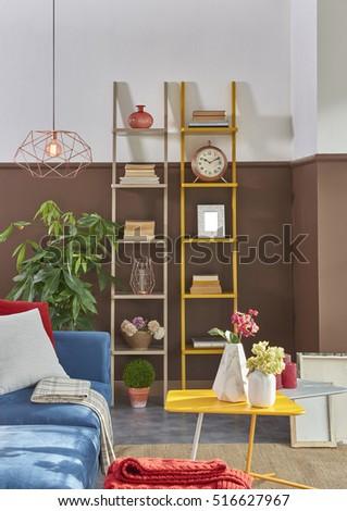 Multicolored Furniture In The Same Room