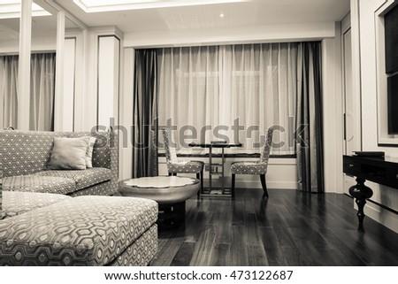 modern living room interior - Interior Design Living Room Modern