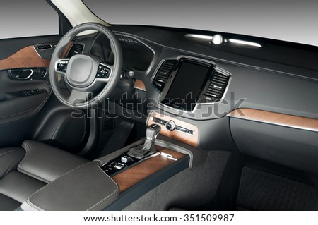 luxury chauffeur driving gps stock photo 439024885 shutterstock. Black Bedroom Furniture Sets. Home Design Ideas