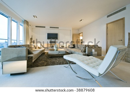 Modern Luxury Living Room With Designer Furniture Part 18