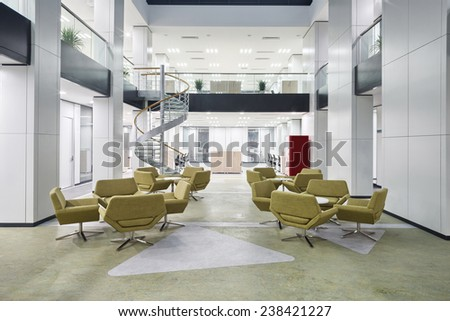 banking industry office lobby one point stock photo 3001110