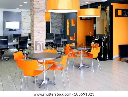 Modern Orange Furniture Modern Kids and Children Armchair Design