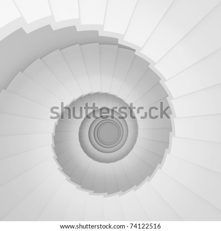 Modern Staircase Background