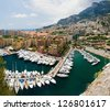Monaco port de fontvielle - stock photo