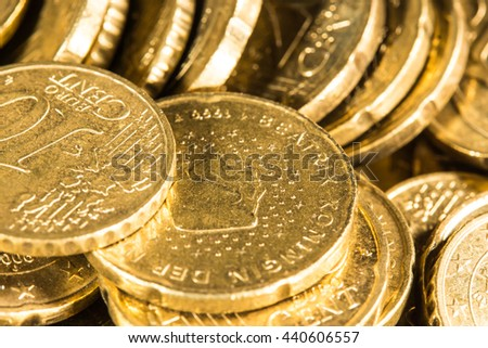 Money Treasure Euro Cent
