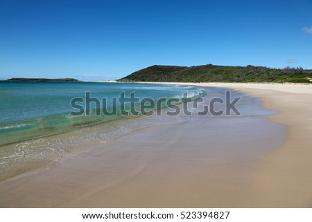 Moonee Beach is just south of Catherine Hill Bay on the NSW Central Coast. This beautiful stretch of coastline has many unspoilt km of white sand beaches.