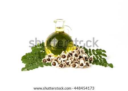 Moringa Oil: The seeds of the Moringa tree are pressed oil known as Ben Oil yellow or Behen Oil because it has a concentration of Behenic Acid and Fatty Acid very high.