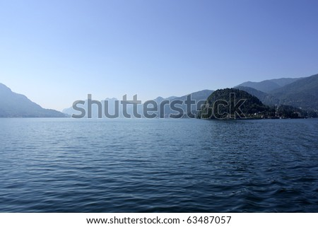 Morning view of Lake Como