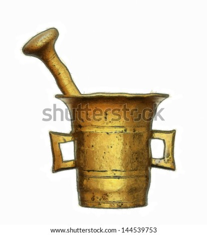 mortar and pestle - kitchen ware