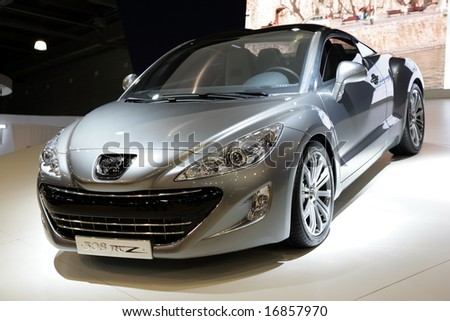 Moscow,Russia-August 31,2008: Moscow International Automobile Salon' 2008,Peugeot