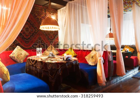 Essaouira morocco sep 3 authentic moroccan stock photo for Atlas house uzbek cuisine