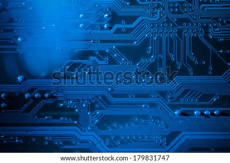 Motherboard details, computer and electronics modern background