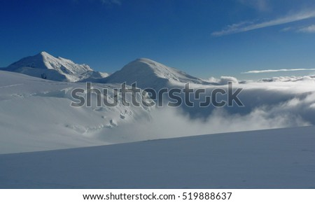 Mountain Landscape Background