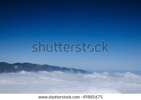 mountain morning landscape