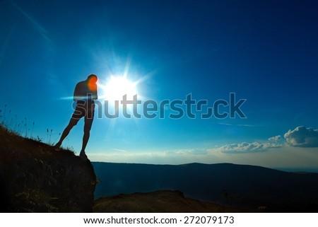 When the Sun Reaches the Mountain