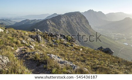 Mountains in Cape Wine lands