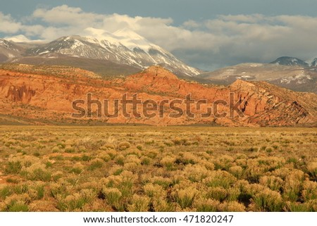 Mountains in Southwestern United States